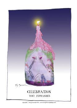 Celebration - signed print